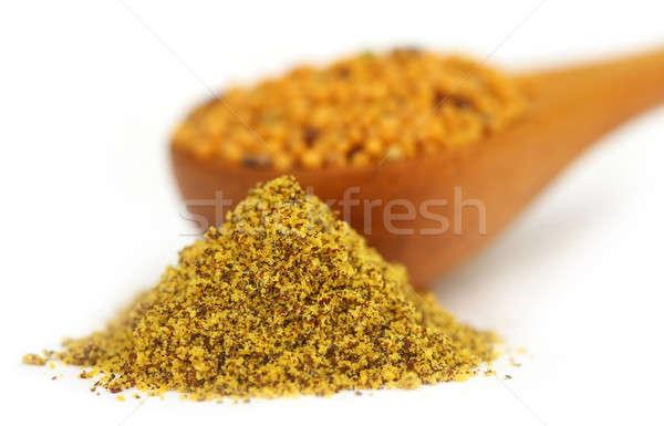 Stock fotó: Mustár · magok · egész · fehér · étel · gyógyszer