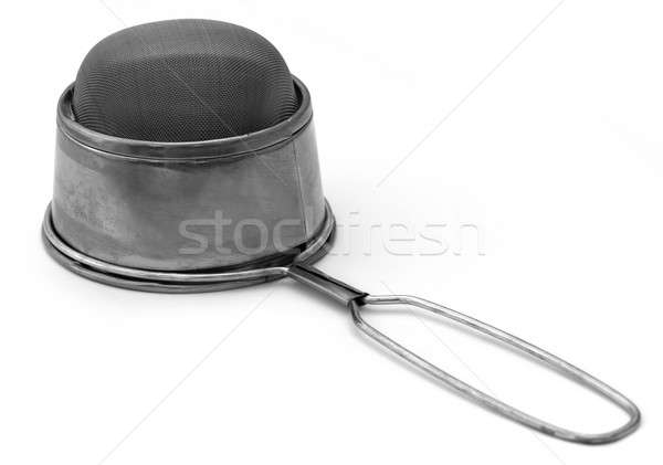 Steel made tea stainer Stock photo © bdspn