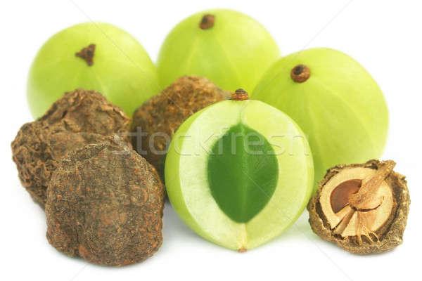 Secar fresco comida verde branco doce Foto stock © bdspn
