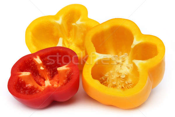 Sliced capsicum Stock photo © bdspn