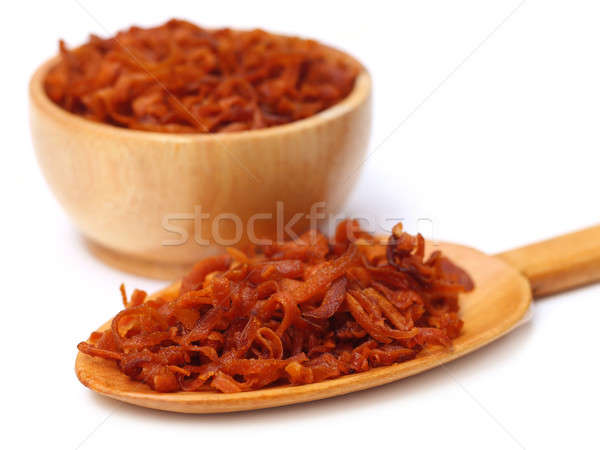 Dried carrot snack Stock photo © bdspn