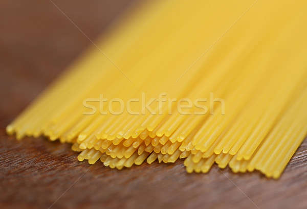 Uncooked noodles Stock photo © bdspn