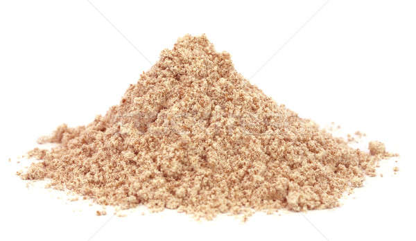 Coarse crystals of brown sugar Stock photo © bdspn