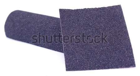 Sand paper roll and sheet Stock photo © bdspn