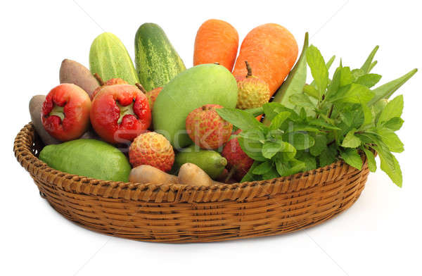 Tropical fruits and vegetables  Stock photo © bdspn