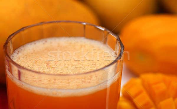 Manga suco fruto laranja Foto stock © bdspn