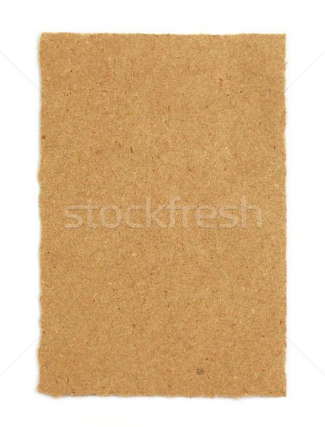 Papel pardo branco textura projeto fundo saco Foto stock © bdspn