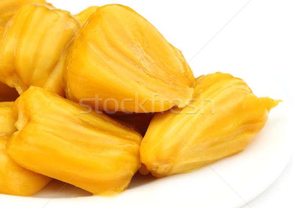 Juicy jackfruit flesh Stock photo © bdspn