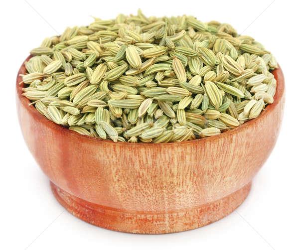 Koper nasion biały puli żywności Zdjęcia stock © bdspn