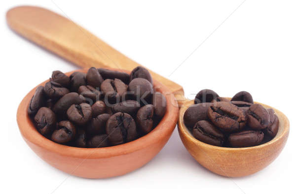 Roasted coffee beans Stock photo © bdspn