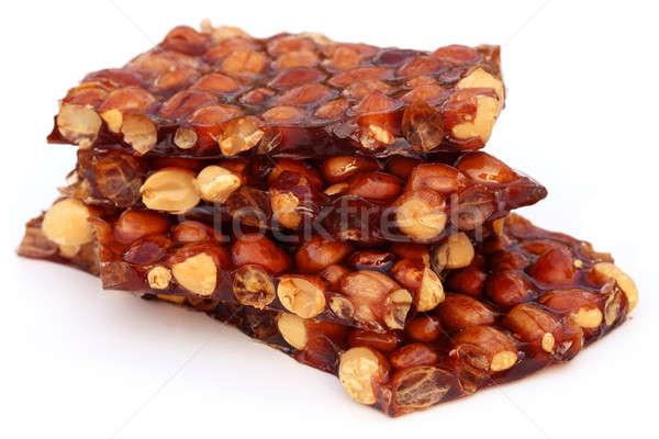 Bonbons cacahuètes hiver rouge blanche Photo stock © bdspn