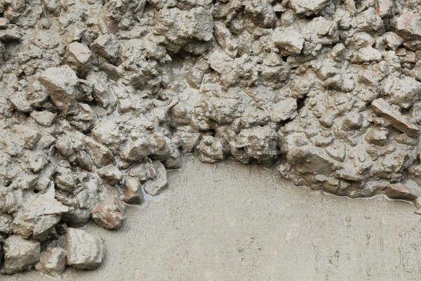 Concrete mixture Stock photo © bdspn