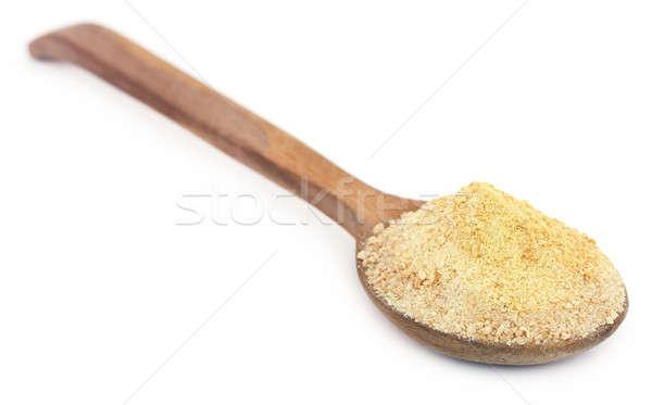 Tempero subcontinente indiano colher isolado ninguém ingrediente Foto stock © bdspn