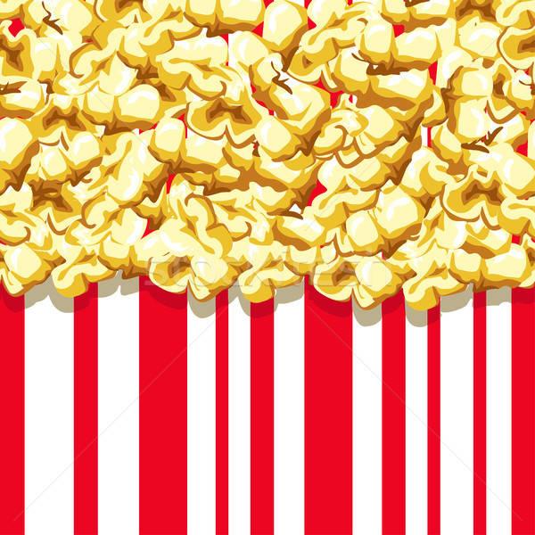 Stock photo: Popcorn pattern