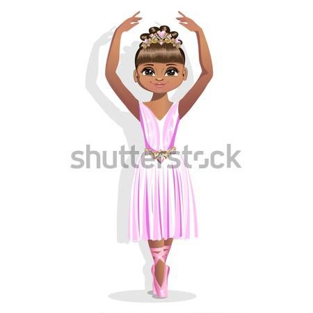 beautiful princess with diadem Stock photo © bedlovskaya