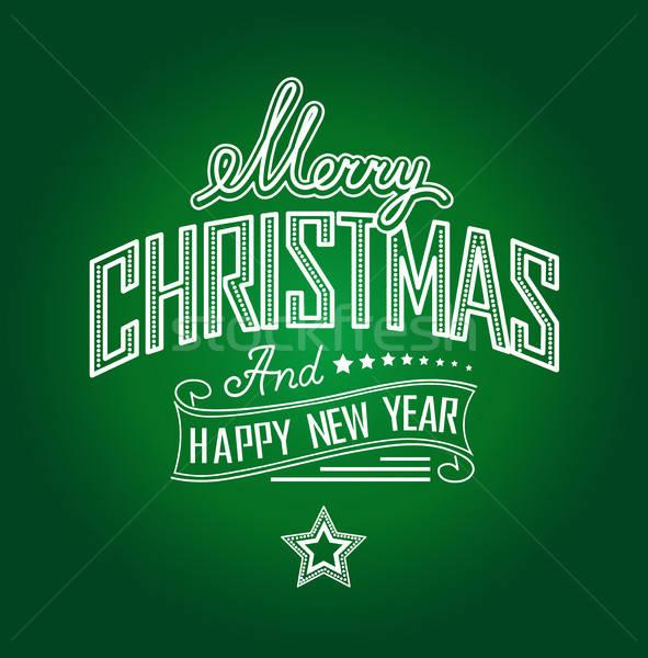 Merry Christmas Stock photo © bedlovskaya