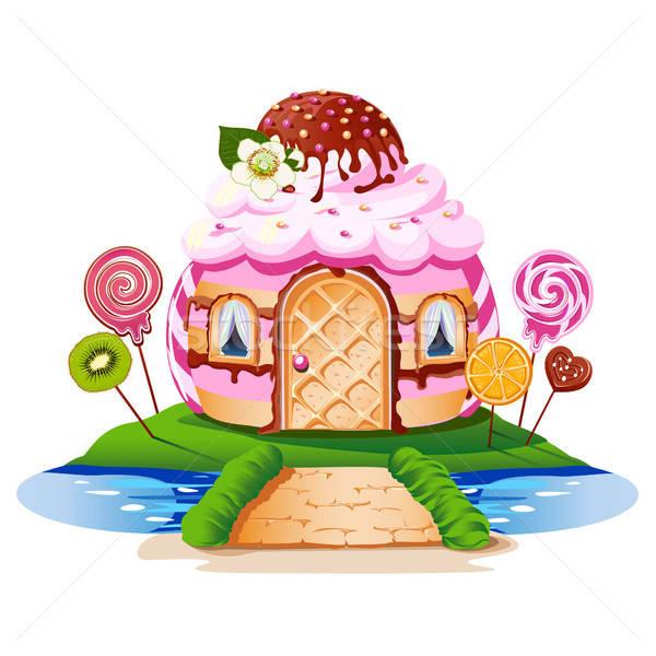 Stock photo: Sweet little house