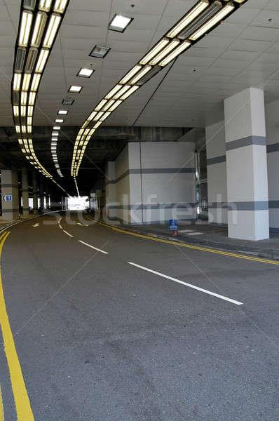 туннель свет дороги пространстве темно транспорт Сток-фото © bedo