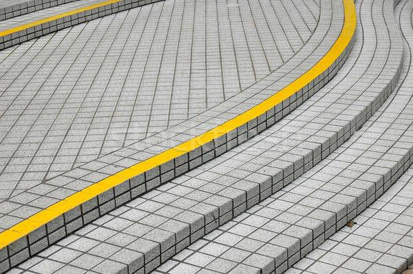 волна лестницы форма город дизайна саду Сток-фото © bedo