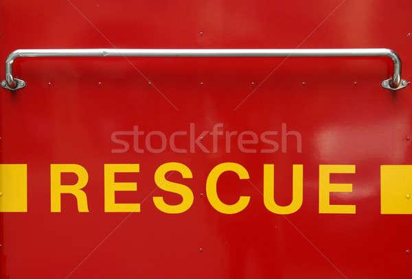 спасательные знак красный здоровья желтый пациент Сток-фото © bedo
