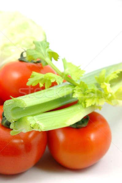растительное коллекция сельдерей продовольствие фрукты Сток-фото © bedo