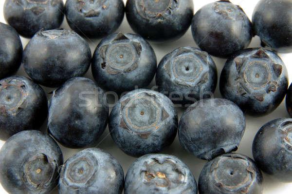 черника материальных текстуры есть свежие диета Сток-фото © bedo