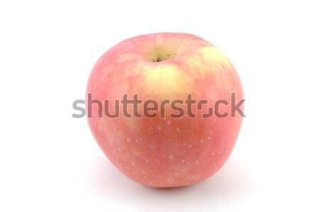 Fuji elma yalıtılmış beyaz meyve kırmızı Stok fotoğraf © bedo