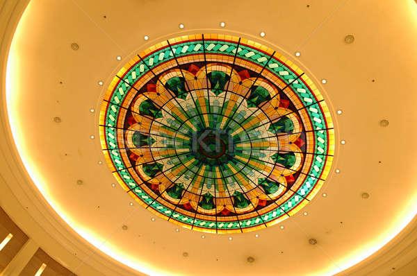 потолок круга цвета текстуры фон лампы Сток-фото © bedo
