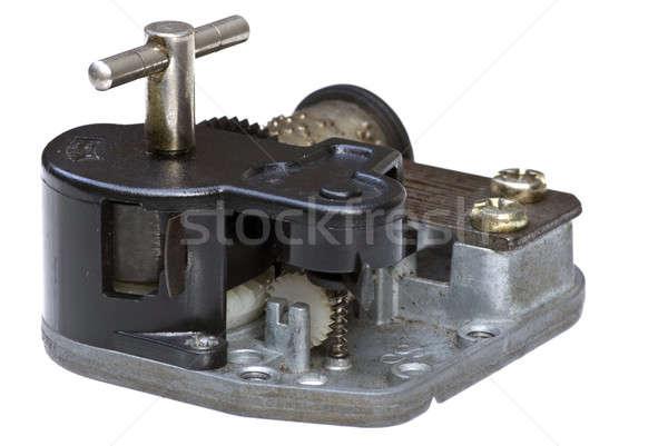 Müzik kutu araç makine dişli antika Stok fotoğraf © beemanja