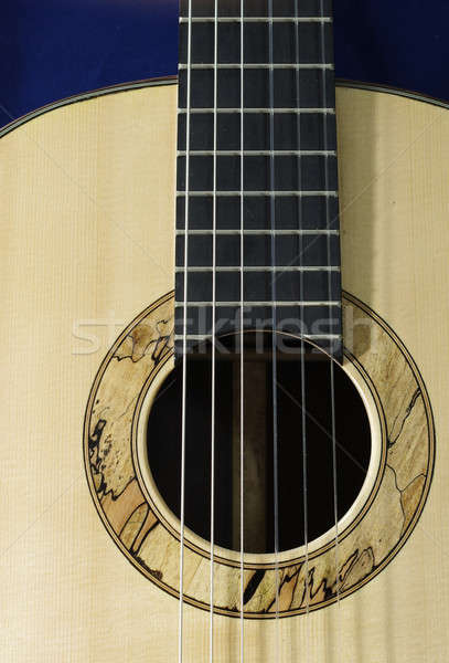 classical guitar handmade Stock photo © beemanja