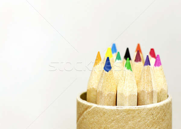 color pencils Stock photo © beemanja
