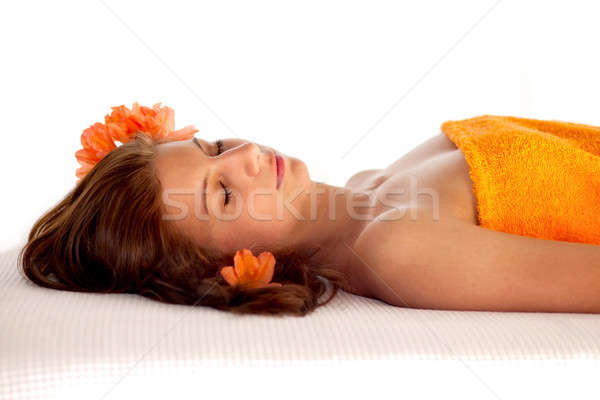Relaxation And Wellbeing Stock photo © belahoche