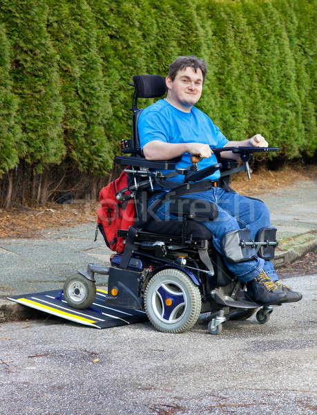Mobility for infantile cerebral palsy patients Stock photo © belahoche