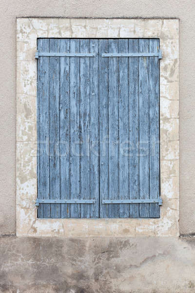 Stock photo: Aged shut window