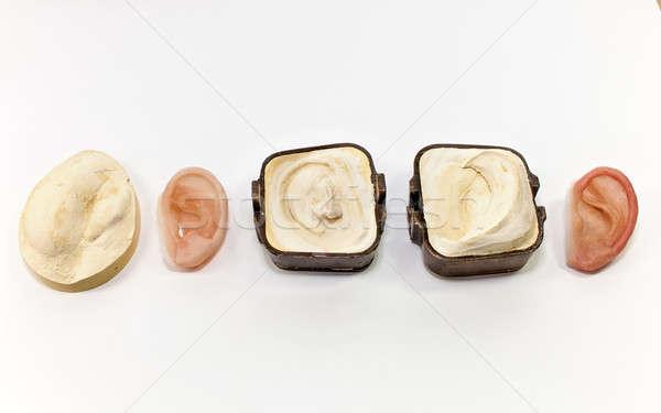 Artificiale orecchio finale prodotto intonaco tutti Foto d'archivio © belahoche