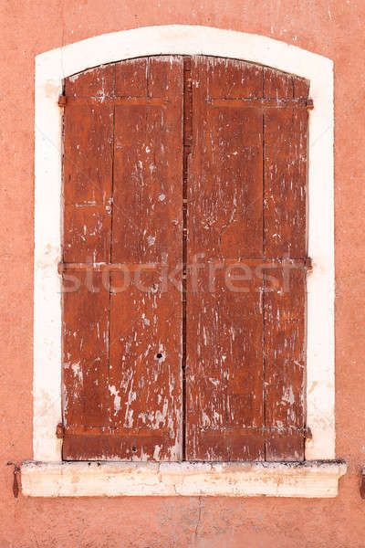 Strong weathered window Stock photo © belahoche