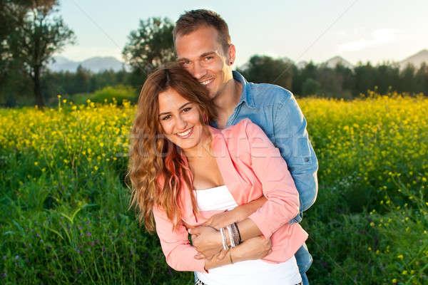 красивой привязчивый любви Постоянный Сток-фото © belahoche