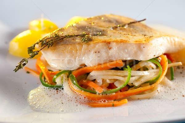 Filet groenten wortelen Stockfoto © belahoche