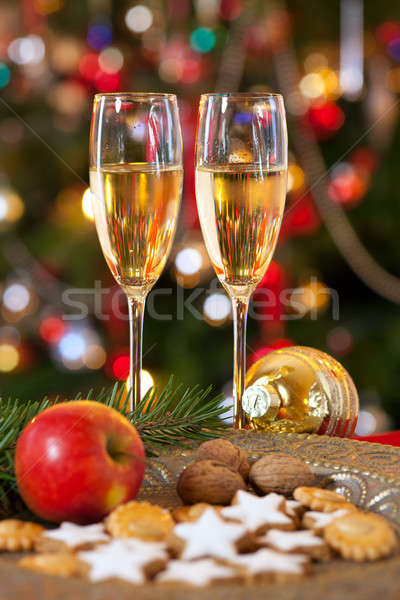 Christmas decoration, still life. Stock photo © belahoche