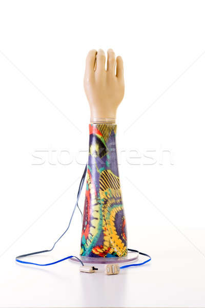 Electronic Prosthetic Arm with Forearm Patterns Stock photo © belahoche