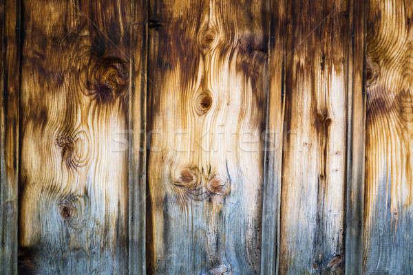 木製 壁 着色した ブラウン 垂直 ストックフォト © belahoche