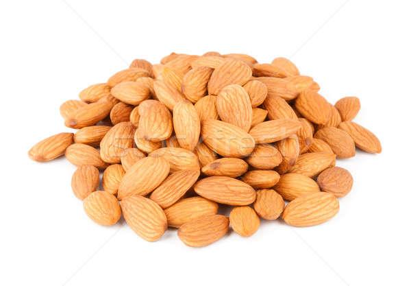 Handful Of Almonds Stock photo © Belyaevskiy