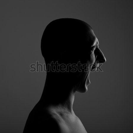 Screaming Person Stock photo © Belyaevskiy
