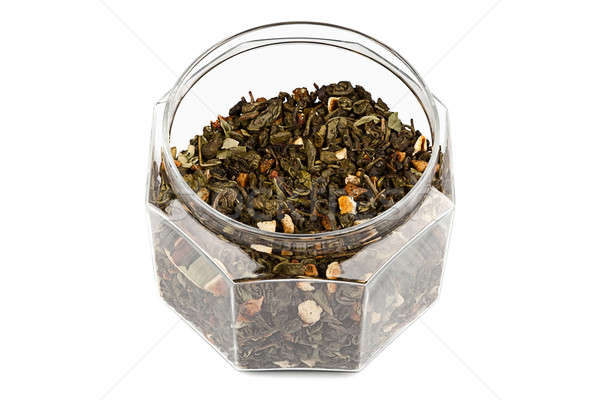Jar With Tea Stock photo © Belyaevskiy