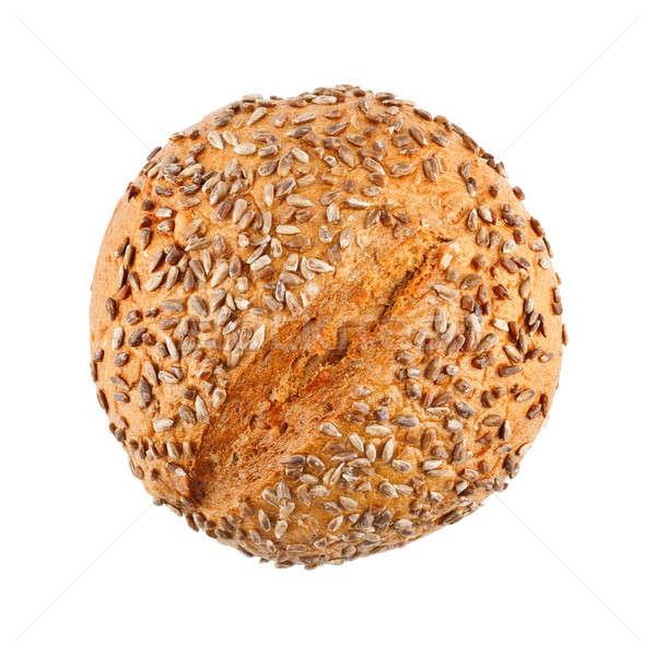 Heerlijk eigengemaakt brood brood zonnebloem zaden Stockfoto © Belyaevskiy