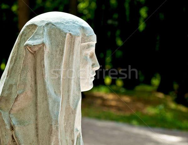 Stone Face Stock photo © Belyaevskiy
