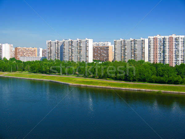 Embankment Stock photo © Belyaevskiy