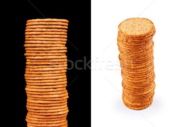 Stock photo: Salty Crackers