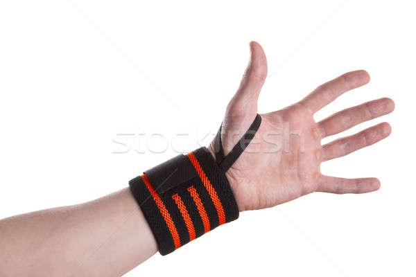 Polso mano nero arancione Foto d'archivio © Belyaevskiy