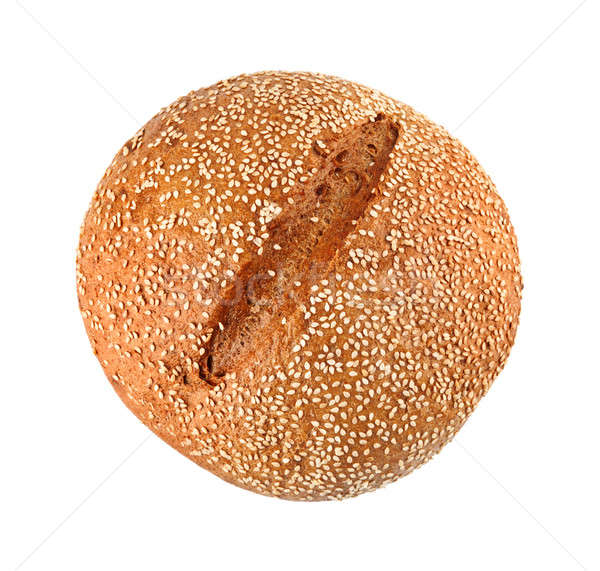 Onion Bread With Sesame Seeds Stock photo © Belyaevskiy